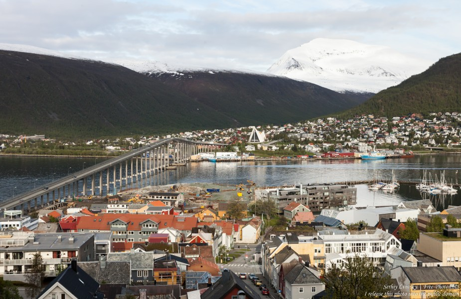 Tromso, Norway, photographed in June 2018 by Serhiy Lvivsky, picture 74