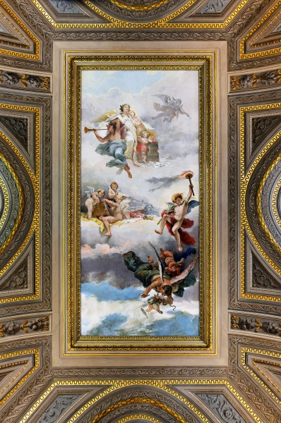 Ceiling in Vatican Museums-Livio