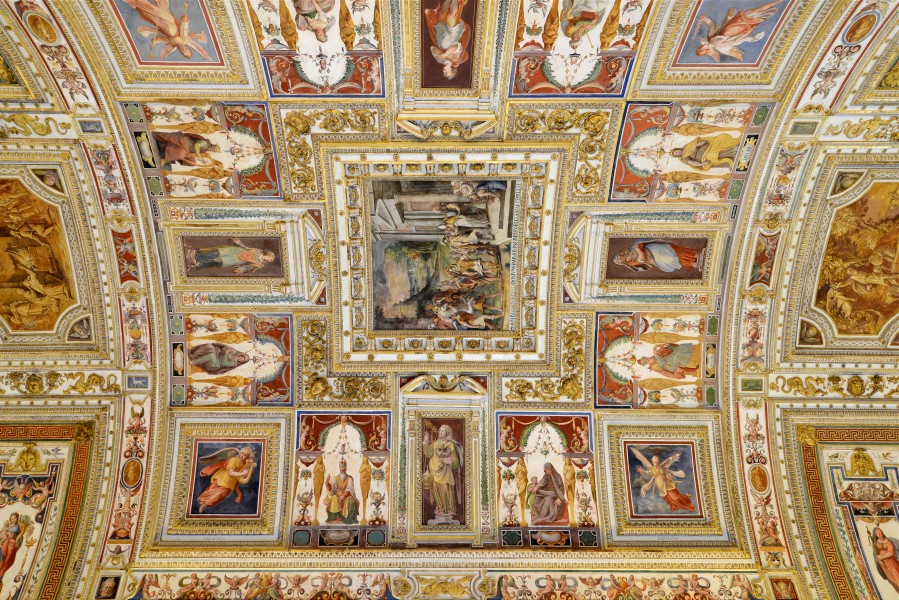 Galleria delle carte geografiche (Vatican Museums) September 2015-5