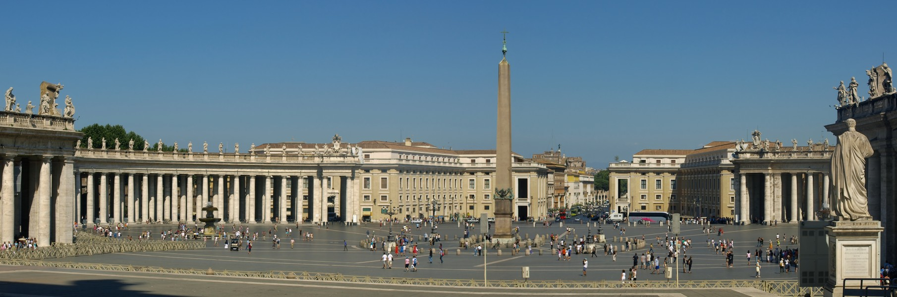 Panorama of Saint Peter's Square