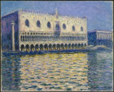 Claude Monet - The Doges Palace (Le Palais ducal) - Google Art Project