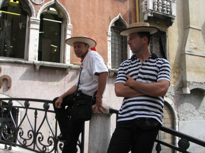 Men in Venice, Italy, European Union, August 2011, picture 13