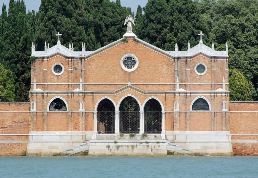 San Michele, Venice, main entrance