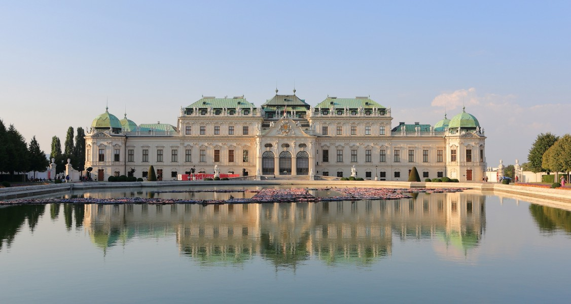 Belvedere, Vienna September 2016