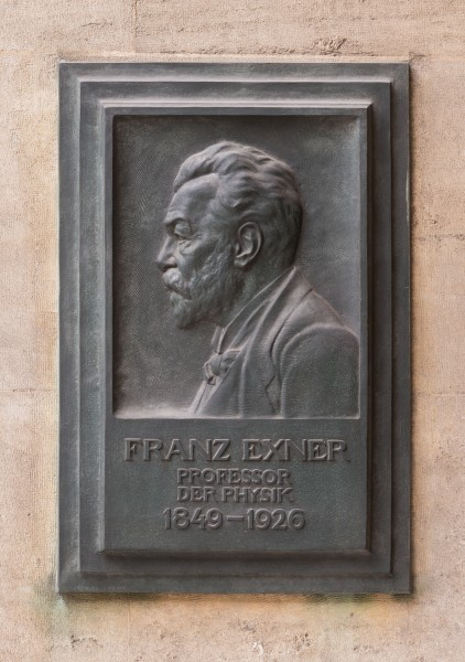 Franz Serafin Exner (Nr. 33) basrelief in the Arkadenhof, University of Vienna-1341-Bearbeitet