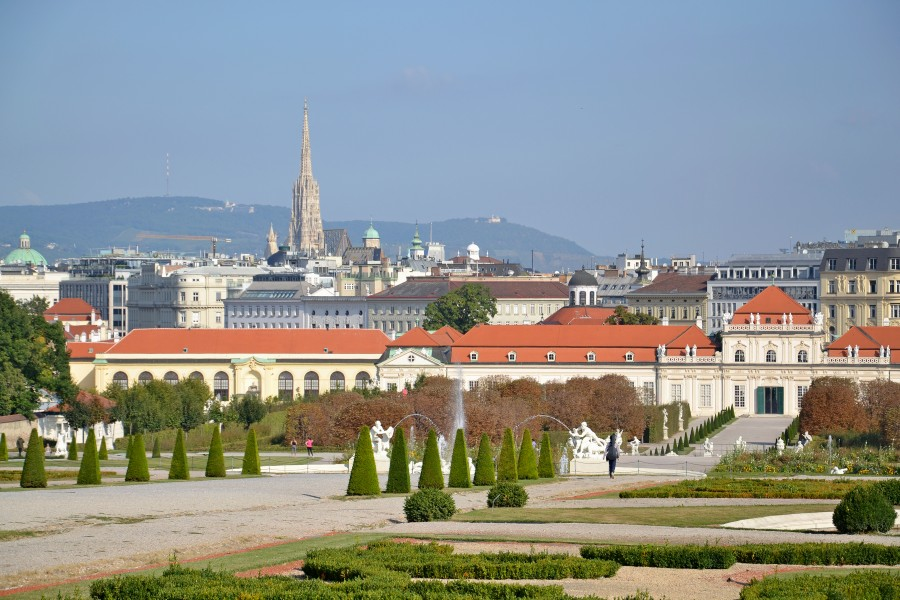 Gardens of the Belvedere (Vienna) 02