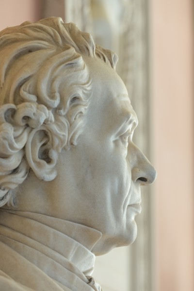 Josef Hyrtl (1810-1894), Nr. 113, bust (marble) in the Arkadenhof of the University of Vienna-2969