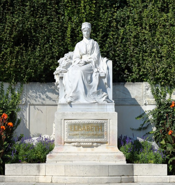 Monument to Empress Elisabeth, Volksgarten Vienna, September 2016 -2