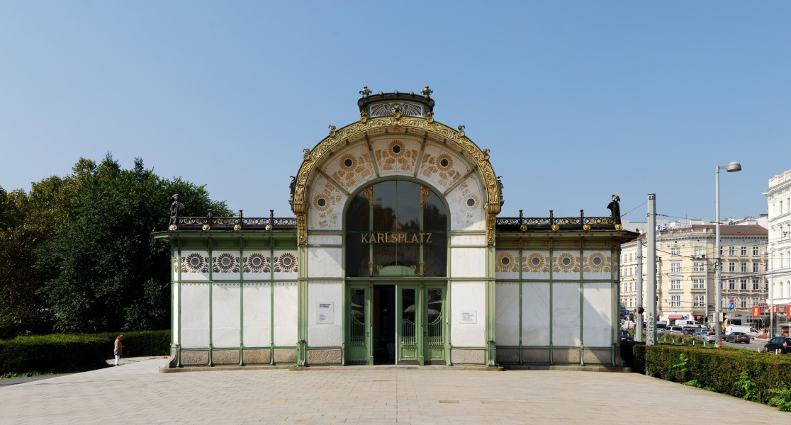 Otto-Wagner-Pavillon Wien September 2016