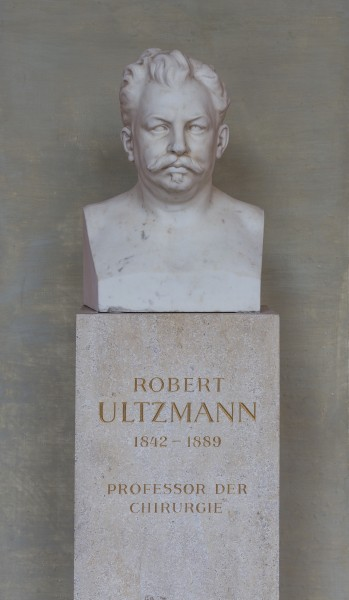 Robert Ultzmann (1842-1889), Nr. 69, bust (marble) in the Arkadenhof of the University of Vienna-1281
