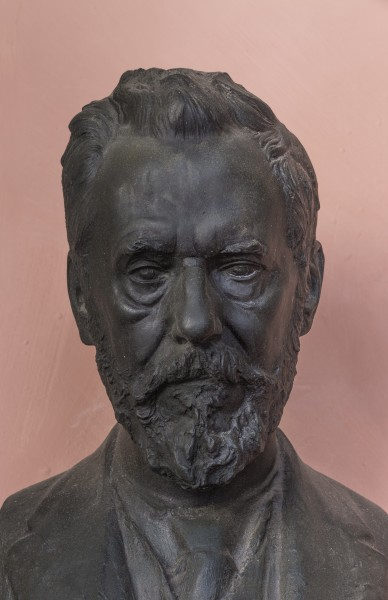 Rudolf Wegscheider (1859-1935), Nr. 38 (bronze) in the Arkadenhof of the University of Vienna-2157