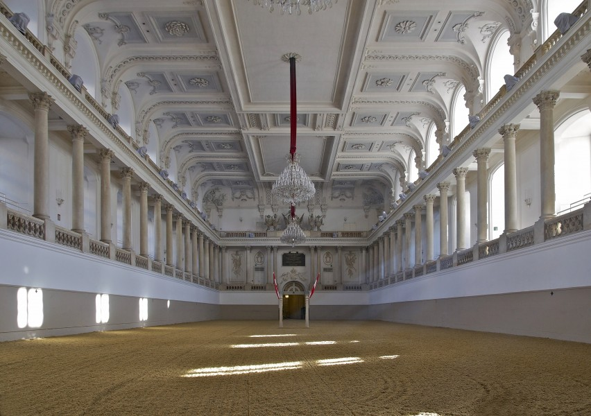 Winter manege Spanish Riding School Vienna