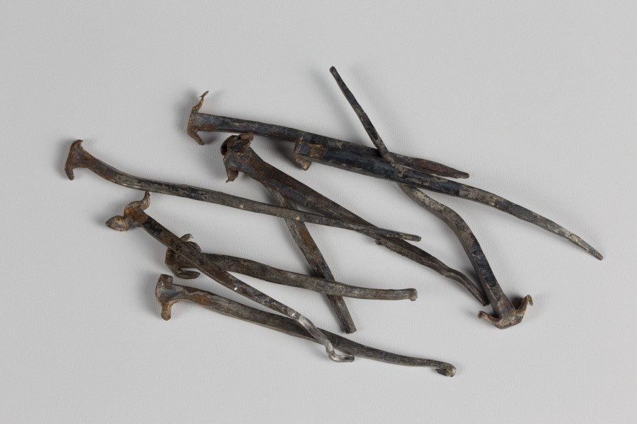 Wrought nails 17. century, Hofburg Vienna 5796
