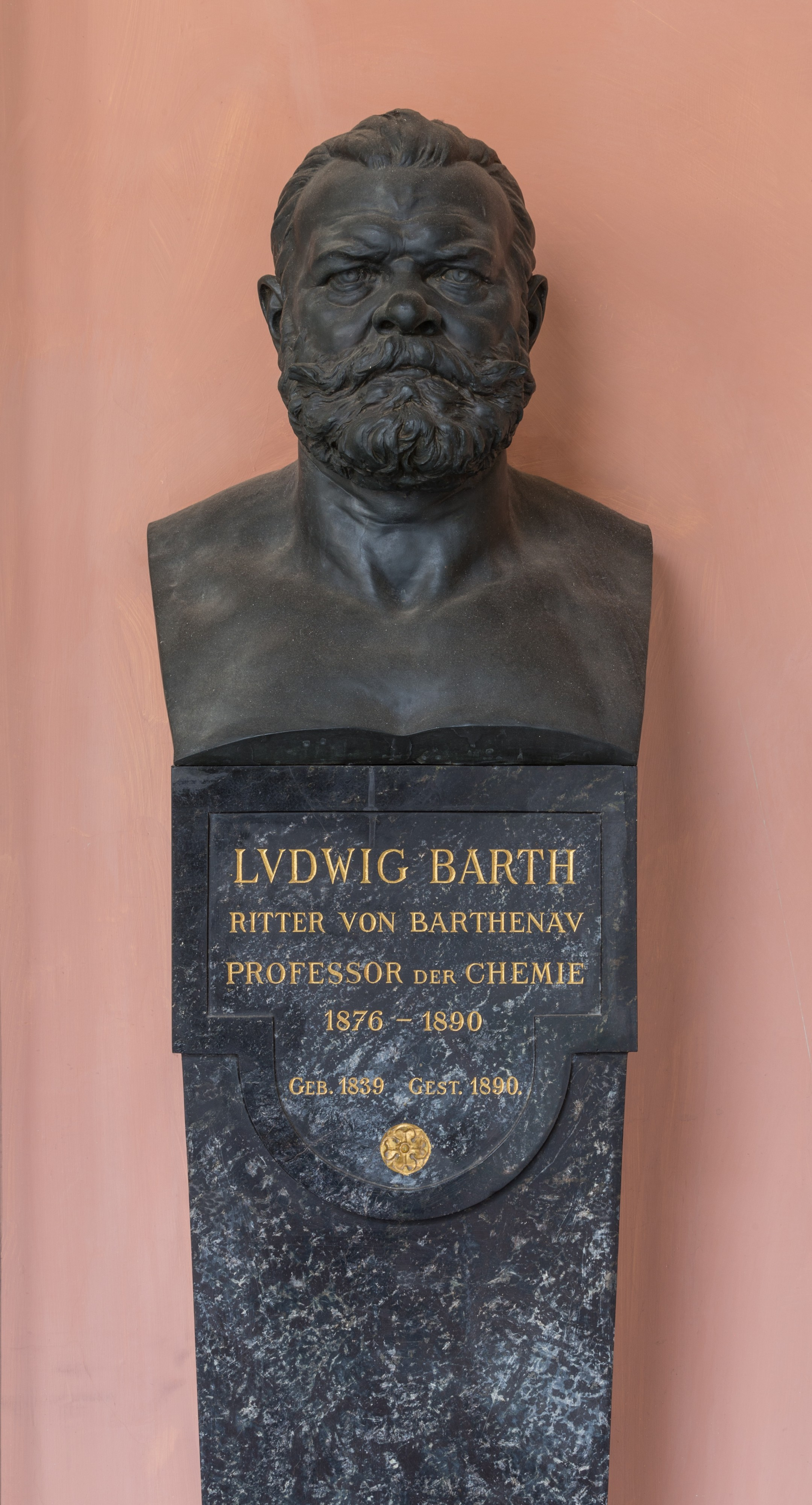 Ludwig Barth von Barthenau (Nr. 47) Bust in the Arkadenhof, University of Vienna-1368