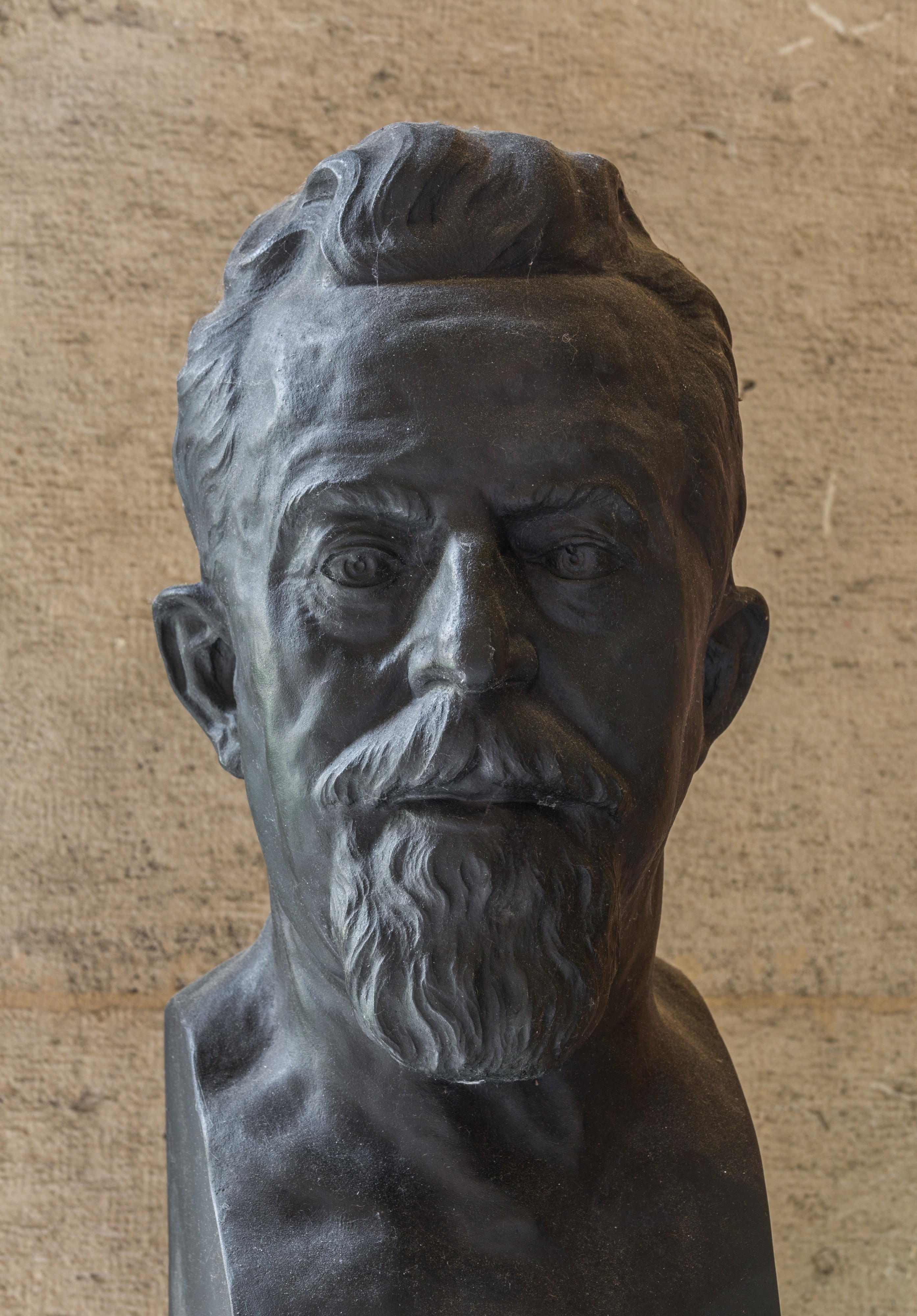 Rudolf Much (Nr. 63) Bust in the Arkadenhof, University of Vienna-9340