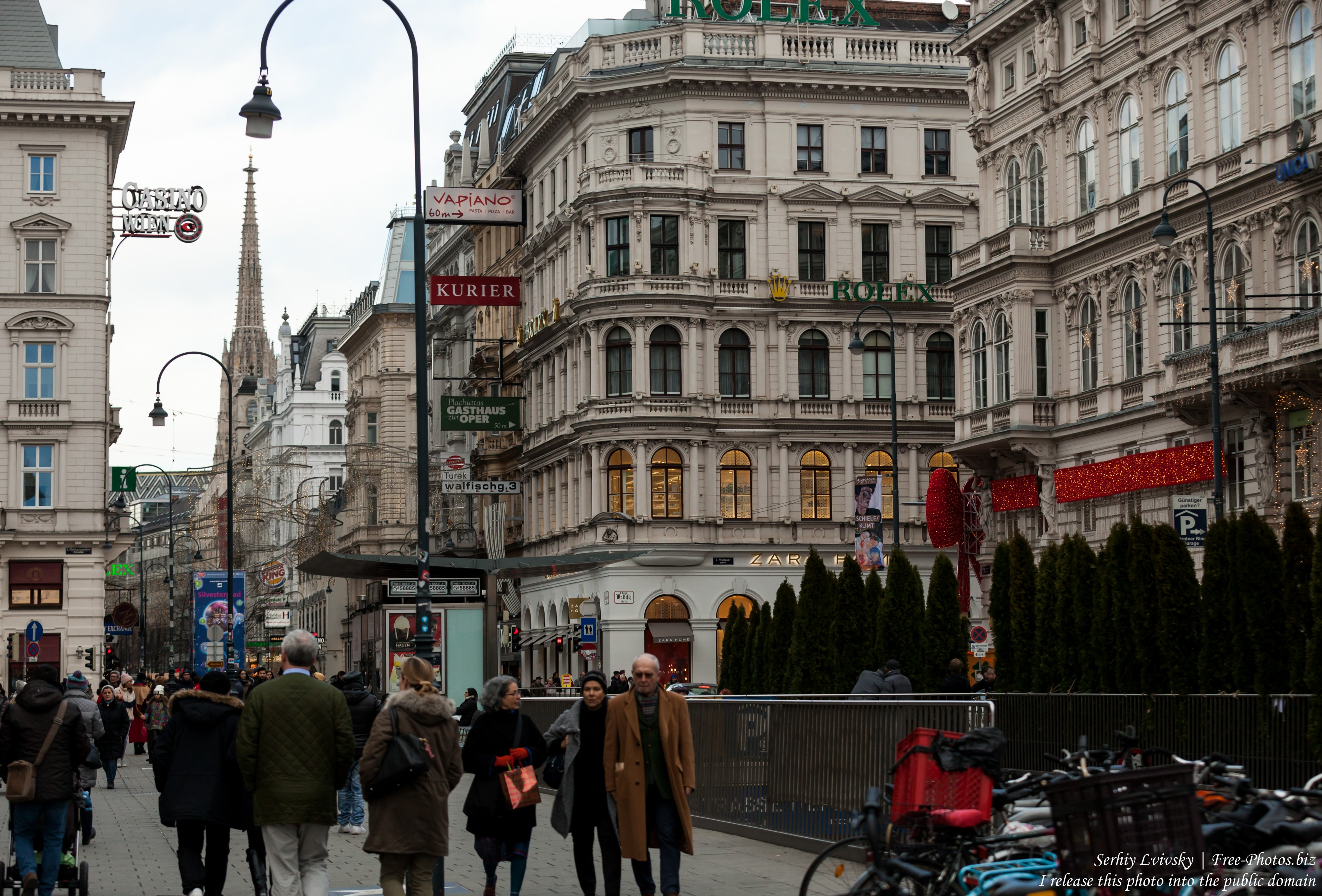 Vienna, Austria photographed in December 2017 by Serhiy Lvivsky, picture 27