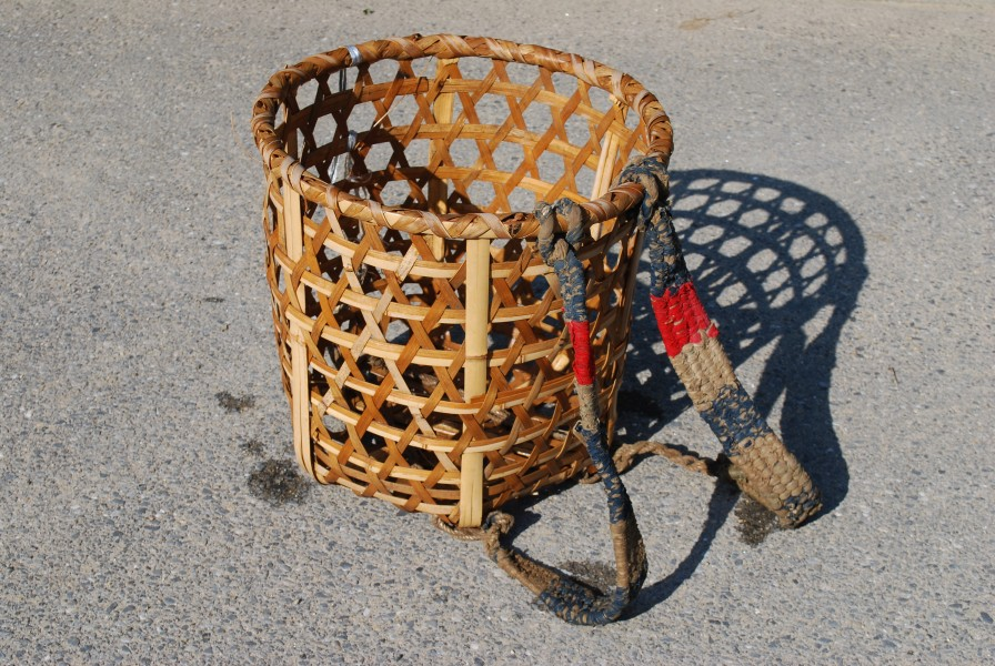 Basket to carry on its back,Shoi-kago,Katori-city,Japan
