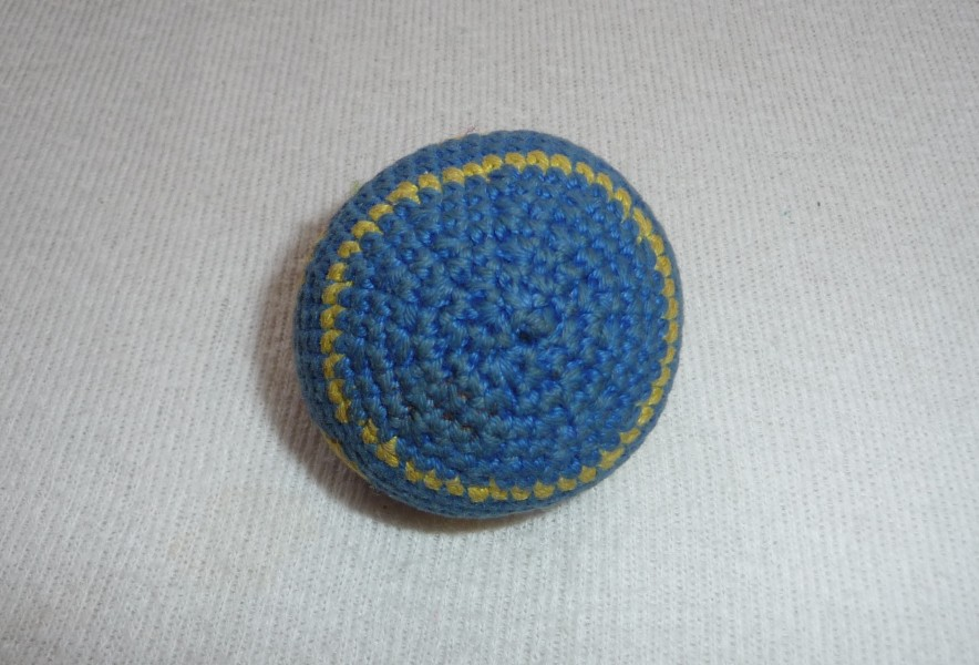 Crocheted hacky sack (4)