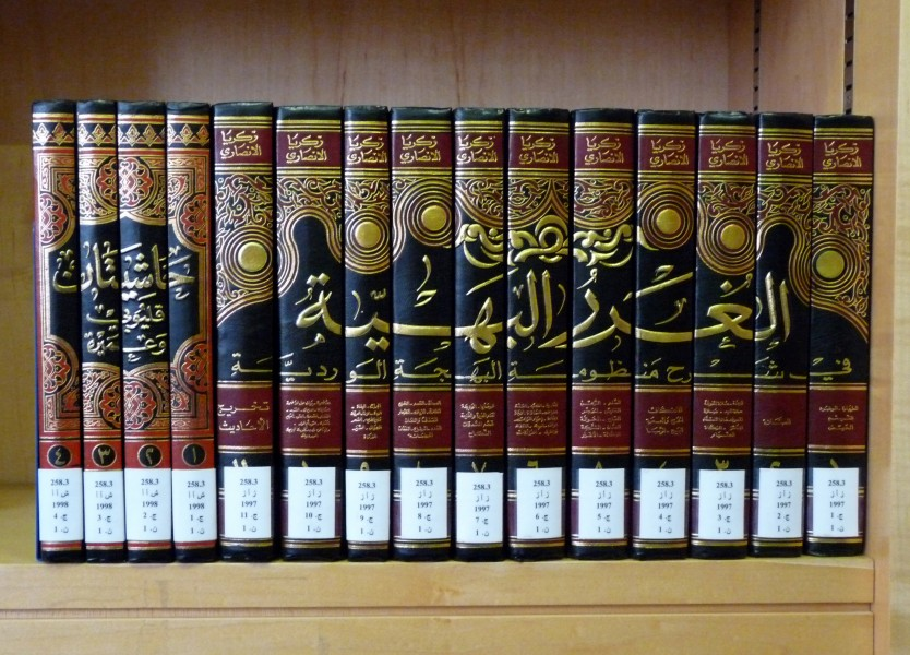 Muscat-Sultan Qaboos Grand Mosque-Library (7)
