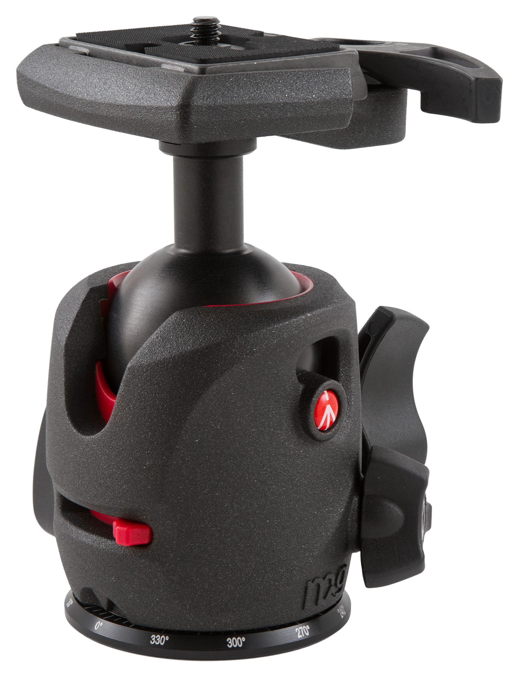 Manfrotto MH054M0-Q2 magnesium ball head with 200PL camera plate