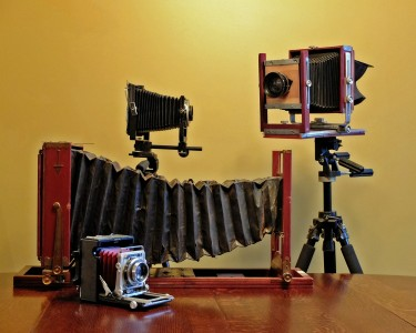 Large and Medium format Cameras