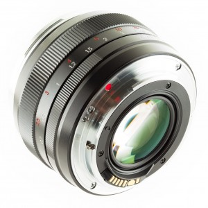 Zeiss Planar T 1,4 50 Canon EF manual focus lens back