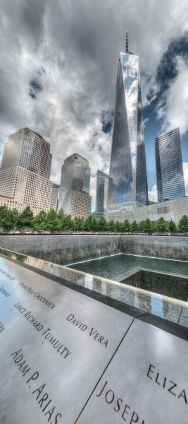 9-11 Memorial - New York, NY, USA - August 19, 2015 01