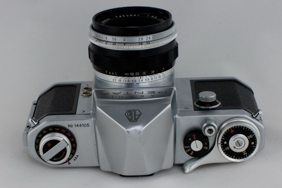AsahiPentax AP top view