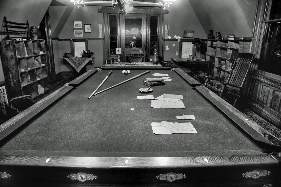 Billiards Room at the Mark Twain Home (13829769114)