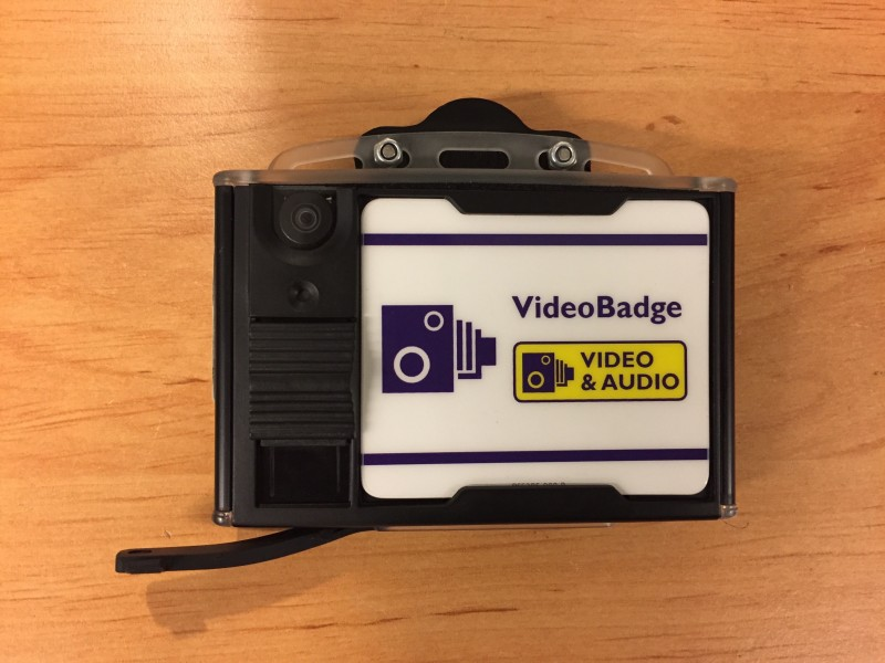 Body worn video (Edesix, videobadge)