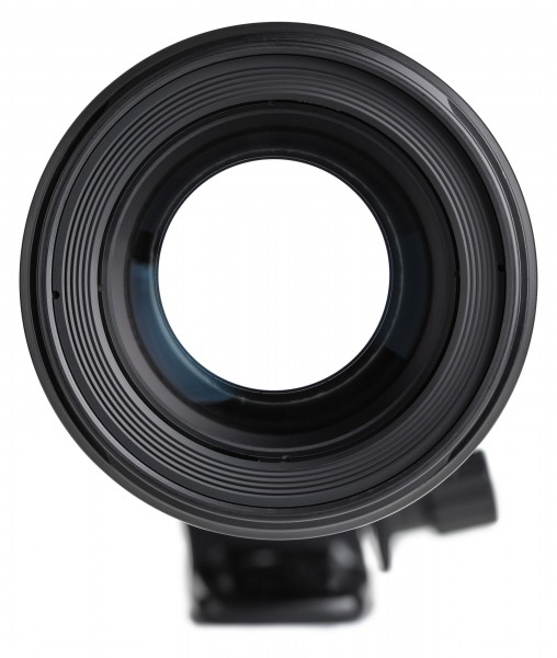 Canon EF 180mm f3.5L Macro USM front element