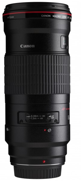 Canon EF 180mm f3.5L Macro USM switches horizontal