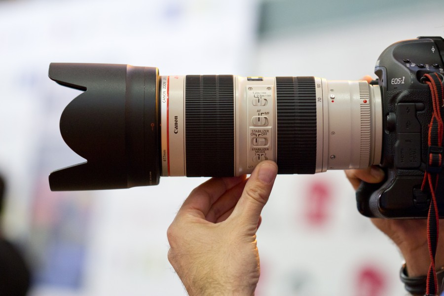 Canon EF 70-200mm f2.8L IS II USM + EOS 1D Mk IV
