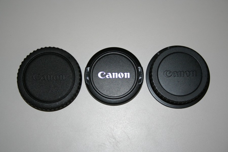 Canon EFS 18 to 55 m lense covers