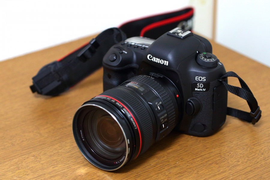 Canon EOS 5D Mark-IV and EF24-105mm F4L IS USM