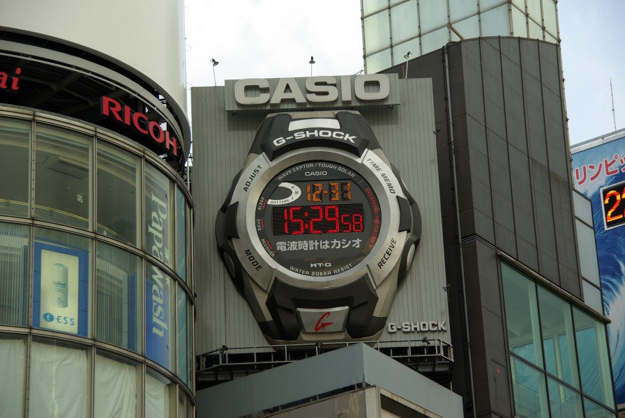 CASIO Giant G-SHOCK in Ginza (6813109098)