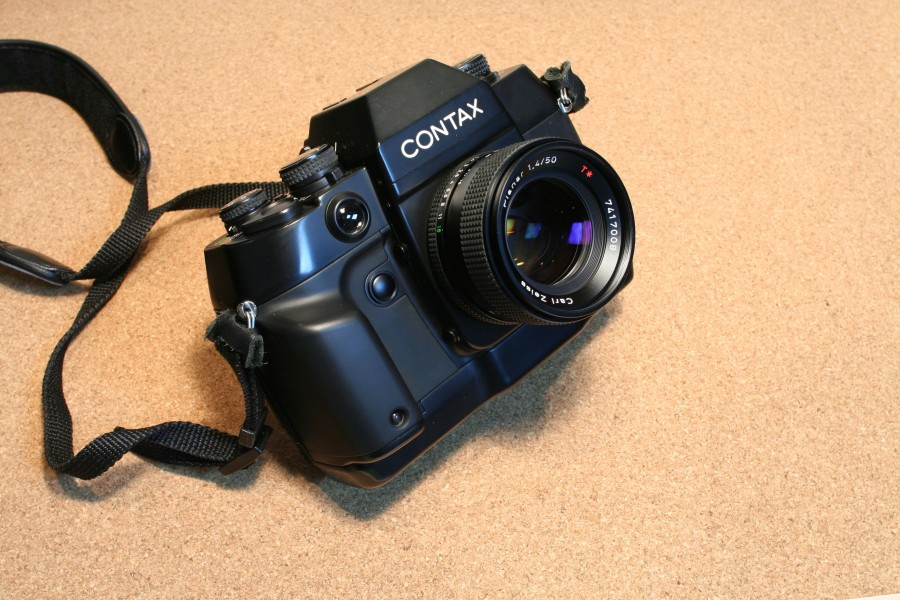 Contax ax with planar1,4 50mm jp