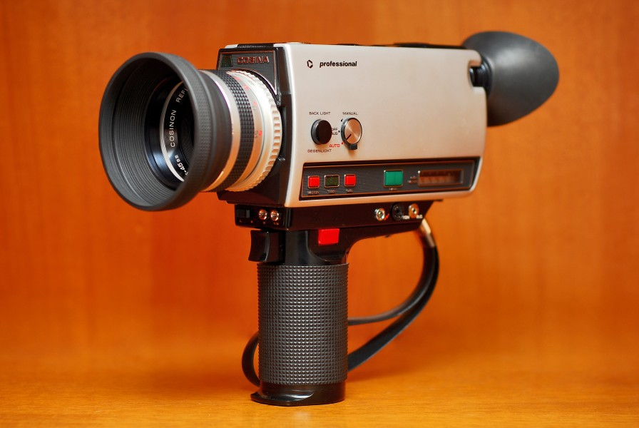 Cosina SSL 766 Macro - Super 8mm film camera