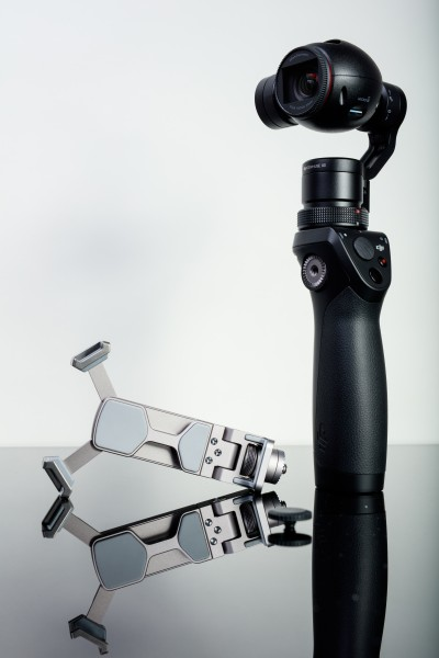 DJI OSMO with device holder