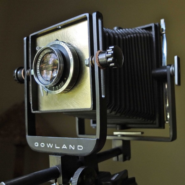 Gowland Pocket View camera with Schneider-Kreuznach Xenar lens