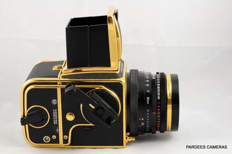 Hasselblad 30th anniversary gold edition