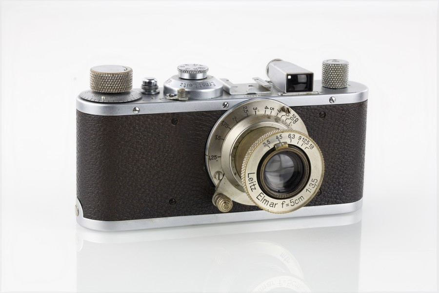 LEI0190 188 Leica Standard Chrom Sn. 244297 1937 -38-M39 Front view-5809 hf