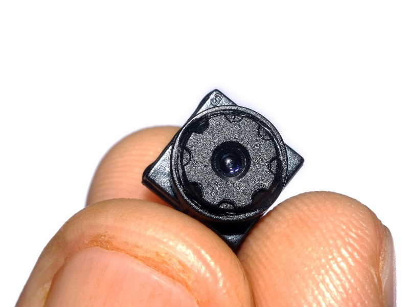 Lens of Mini Camcorder