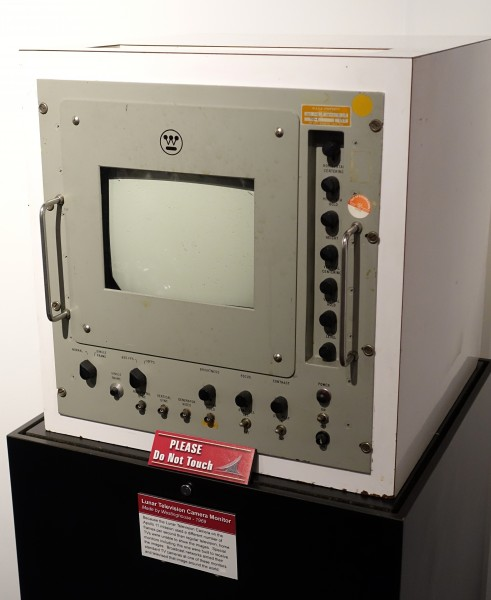 Lunar Television Camera Monitor, Westinghouse, 1969 - National Electronics Museum - DSC00574