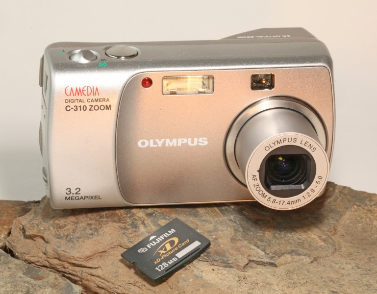 Olympus Camedia C-310 Zoom Digital Camera
