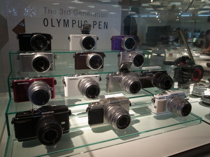 Olympus Pen, The 3rd Generation - Good Design Award 2011 exhibition (2011-11-03 14.23.58 by na0905)