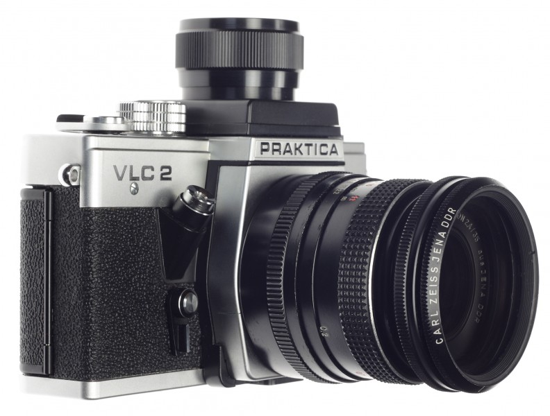 Praktica VLC 2 with loupe finder (6234562794)