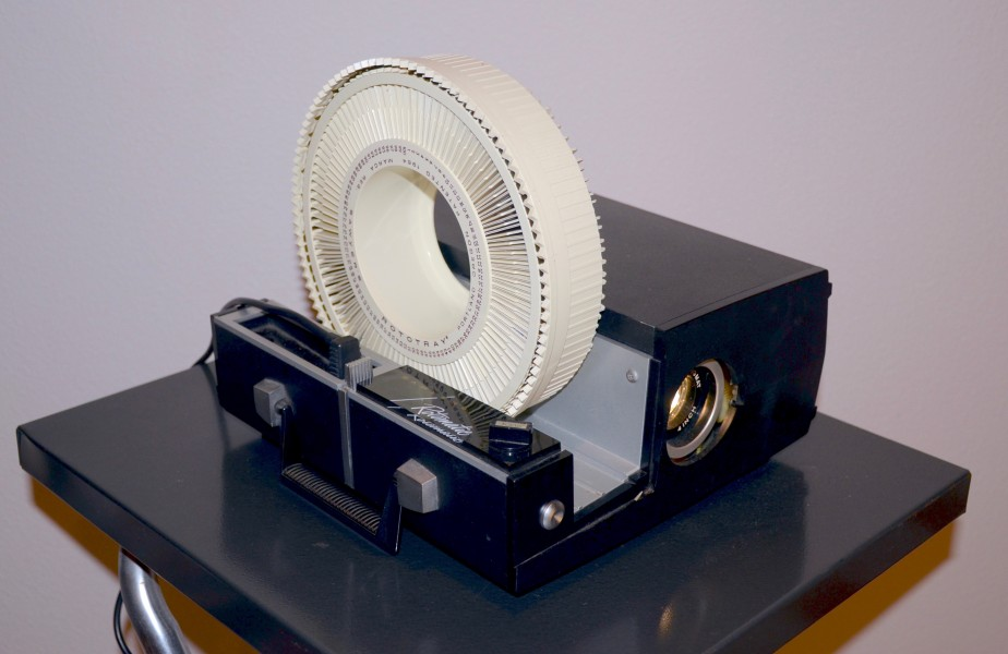 Sawyer's Rotomatic slide projector