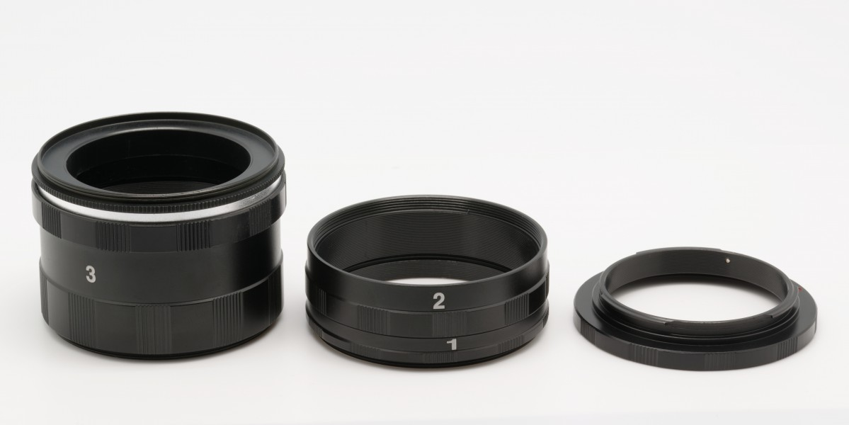 Set of extension tubes Canon