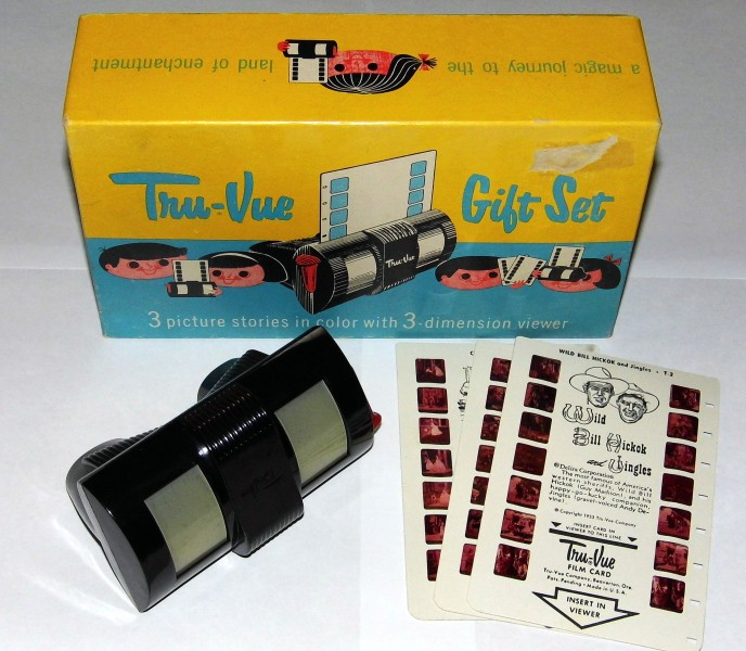 Tru-Vue Gift Set - box, viewer and film cards